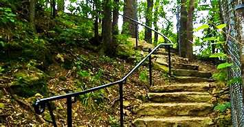 Local Stone Fireplaces In Hoyt Park >> Plato Walk Through Quarry And Hoyt Parks